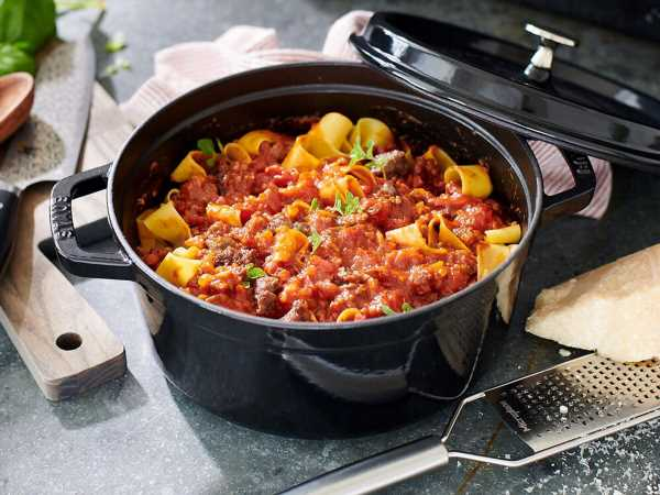 Staub's Cocotte Is Perfect for Soups, Breads, and Bakes—and It's 75% Off Right Now