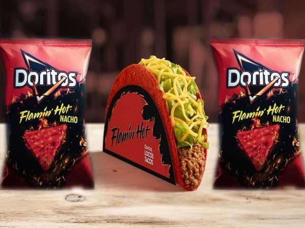Flamin' Hot Doritos Locos Tacos Are Coming to Taco Bell Very Soon
