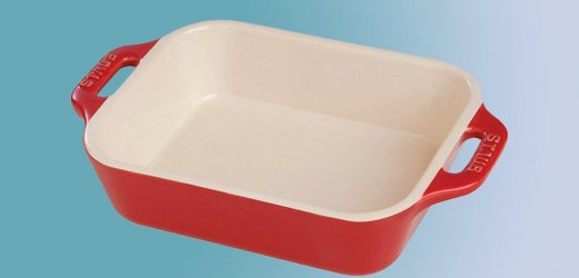 This Ceramic Baking Dish Is Perfect for Make-Ahead Dinners—and It's Only $25 Right Now