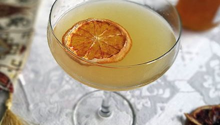 Sidecar mocktail