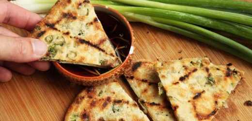 Grilled Scallion Pancakes Recipe