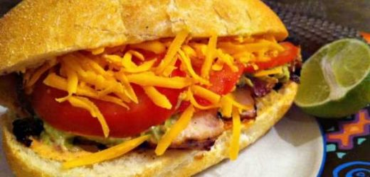 Mexican Chicken Sub