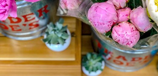 Trader Joe's Famous Peonies Are Back in Stores—but Only for a Limited Time