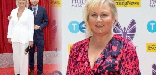 Weight loss: Coronation Street's Sue Cleaver lost three stone switching to a certain diet