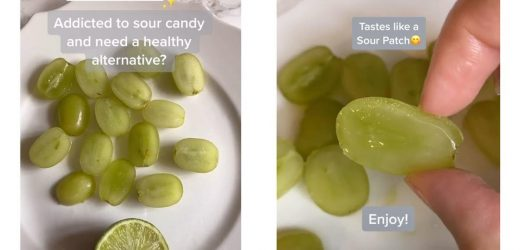 The Latest Viral Food Trend Turns Grapes into Sour Patch Kids