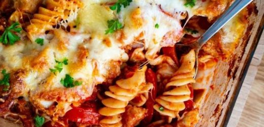 Veggie pasta bake recipe: How to make veggie pasta bake