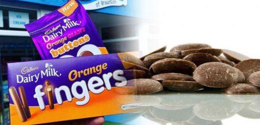 Cadbury orange buttons: When do Cadbury's chocolate orange buttons go on sale?
