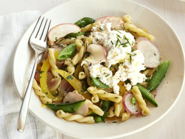 Garden Pasta with Lemon Ricotta