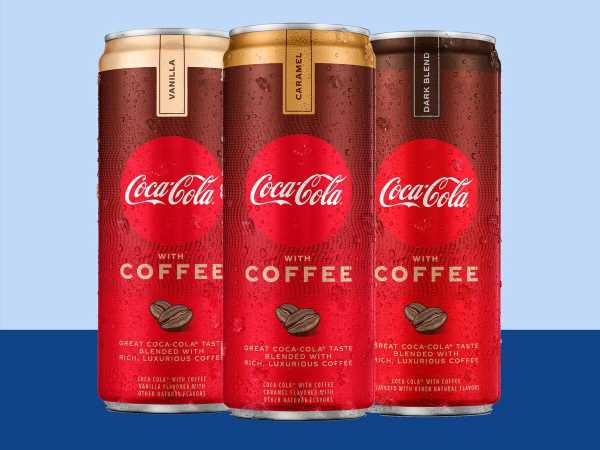 Coca-Cola Is Launching a New Line of Coffee-Infused Soda in Three Flavors