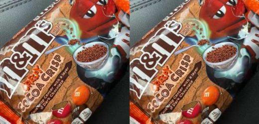 Creepy Cocoa Crispy M&M\u2019s Are Hitting Shelves In Prep For Spooky Season