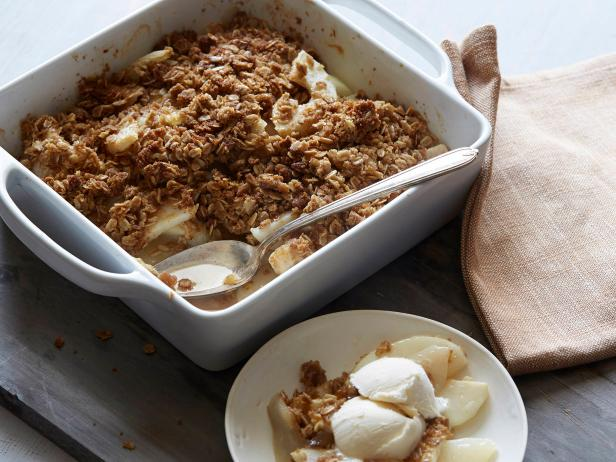 Pear Ginger Crumble