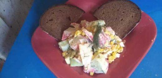 Surimi (Imitation Crab) Salad