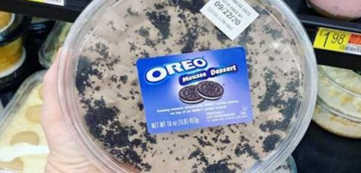 This Prepackaged Oreo Mousse Is the Ultimate Dessert Shortcut