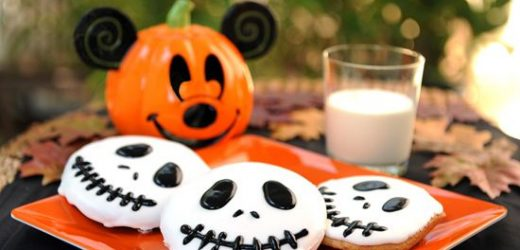Disney Shared A Recipe For Jack Skellington Cookies That Are Perfect For Halloween OR Christmas