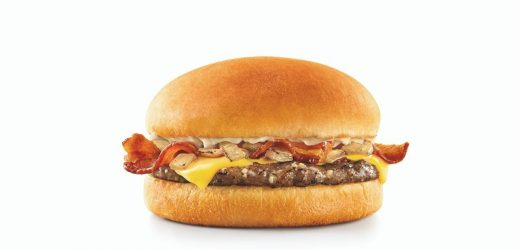 Sonic's Garlic Butter Bacon Cheeseburger Is Back Again For A Limited Time Only
