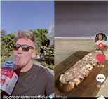 Gordon Ramsay Sipped Ocean Spray In His Latest TikTok Tirade, Referencing The Viral 'Dreams' Video