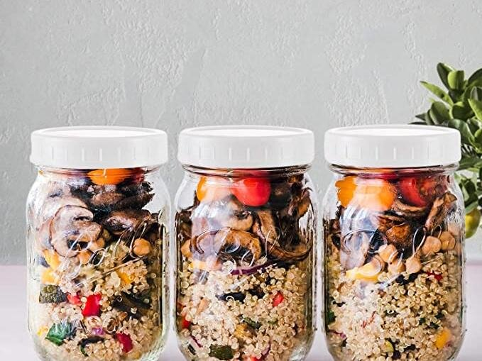 These Handy Lids Will Turn Your Mason Jars into Food Storage Containers