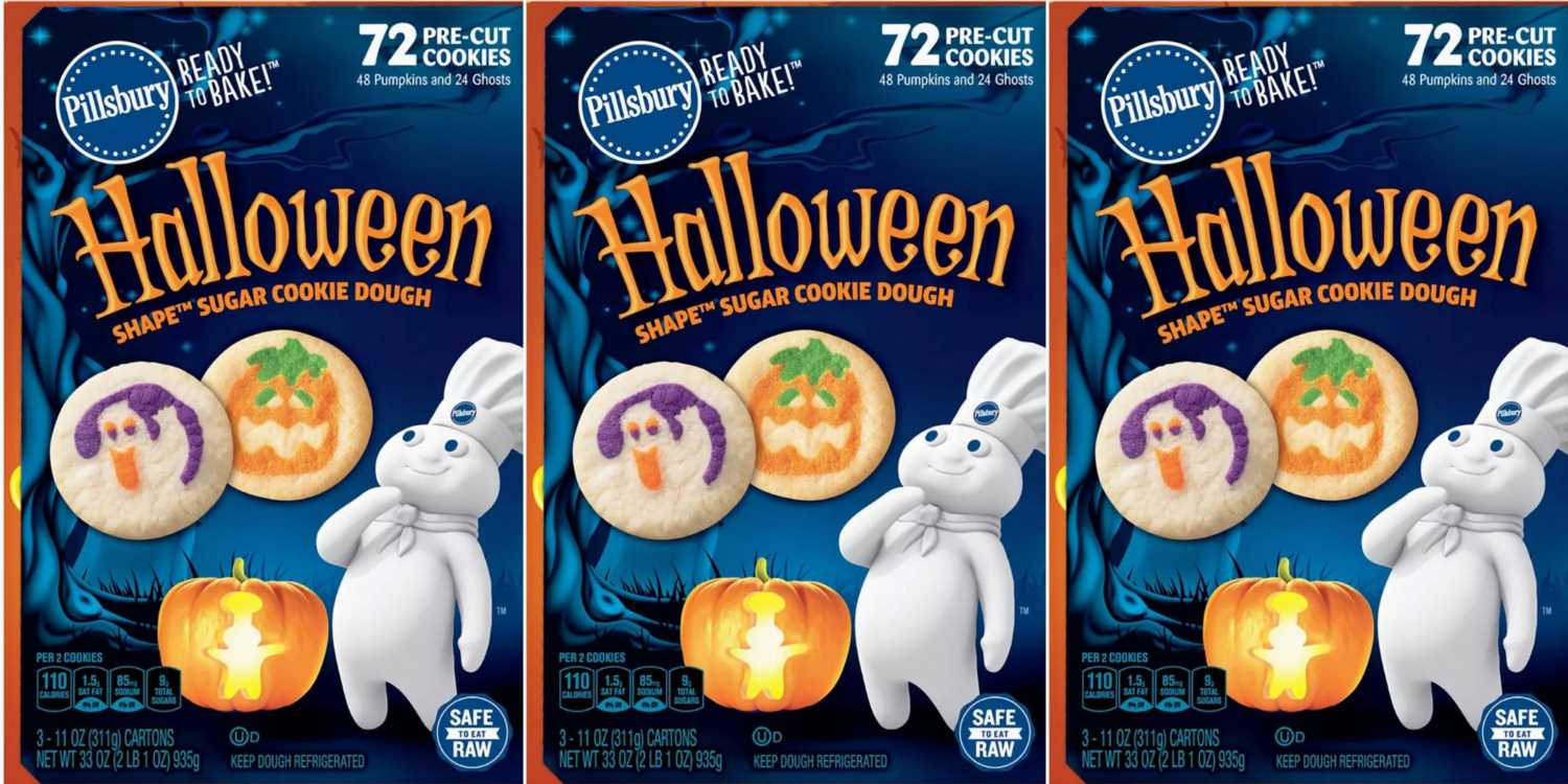 BJ's Is Selling A 72-Pack Of Pillsbury Halloween Cookies That You'll Be Eating Until Christmas