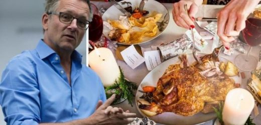 Dr Michael Mosley on healthy eating over Christmas – keep up exercise regime
