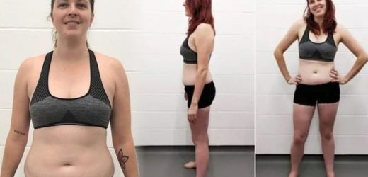 Weight loss: Woman dropped 1st 12lb and two dress sizes in 8 weeks with diet plan change