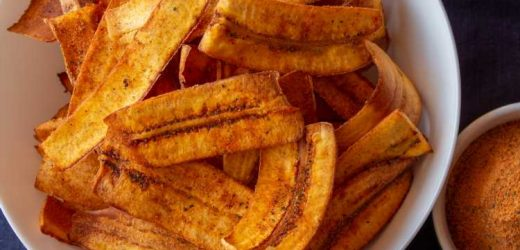 Pollo Campero–Seasoned Fried Plantain Chips Recipe