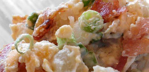 Kristen's Bacon Ranch Potato Salad