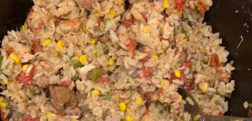 Simple Slow Cooker Jambalaya