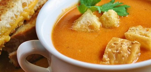 Smoked Chipotle Tomato Basil Soup