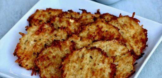 Spicy Ranch Cauliflower Crackers