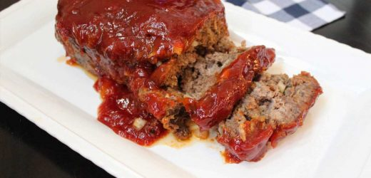 Simple Apricot-Glazed Meatloaf