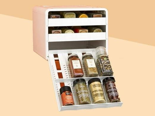 This Space-Saving Spice Rack Is Expertly Designed for Any Kitchen