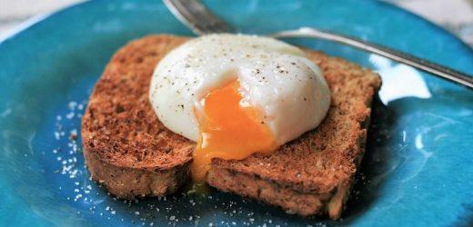 """Sous Vide """"Poached"""" Eggs"""