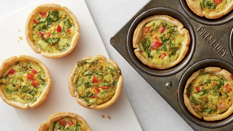 Veggie Lover's Mini Quiche