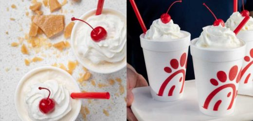 Chick-fil-A Is Testing A Butterscotch Crumble Milkshake In Salt Lake City Right Now