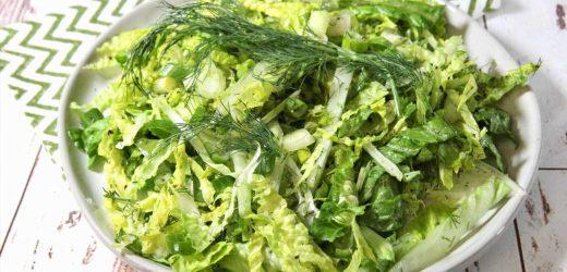 Maroulosalata (Greek Romaine Salad)