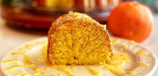 Easy Orange Ricotta Cake
