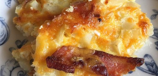 Egg and Hash Brown Pie