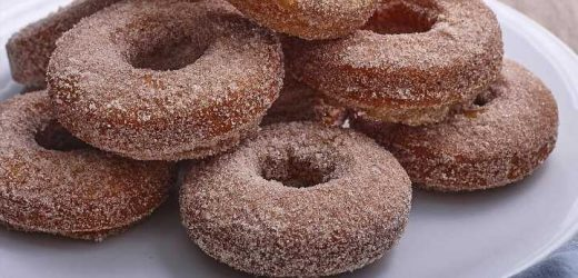 Aunt Kathy's Old-Fashioned Potato Donuts