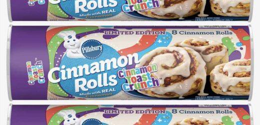 Pillsbury's New Cinnamon Toast Crunch Rolls Will Change The Breakfast Game