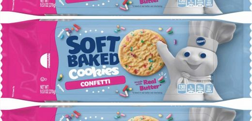 Pillsbury Has A New Line Of Soft Baked Cookies, And We Call Dibs On The Confetti Ones