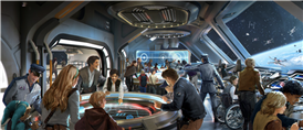 Disney World's 'Star Wars' Galactic Starcruiser Experience Will Feature A Dinner Show