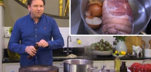 James Martin Saturday Morning: Chef shares easy recipe for marmalade roasted ham