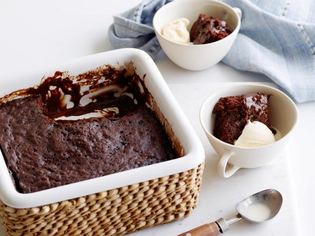Microwave Chocolate Pudding Cake