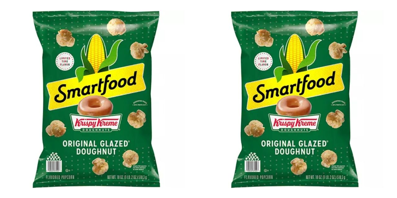 Smartfood Is Selling Krispy Kreme-Glazed Popcorn For A Limited Time