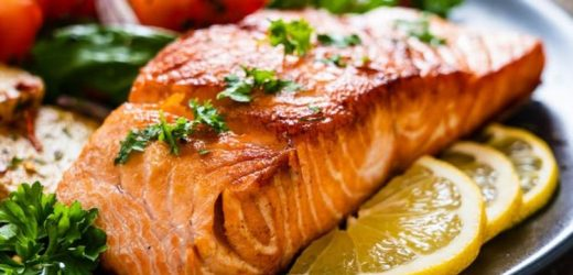 How to cook a whole salmon