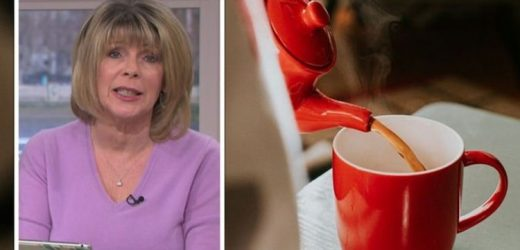 How we've all been drinking tea wrong! Ruth Langsford reveals new way to drink beverage