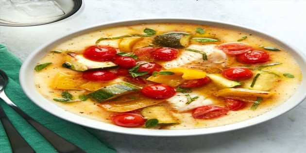 Italian Fish and Vegetable Stew