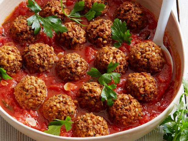 Lentil-Mushroom Meatballs