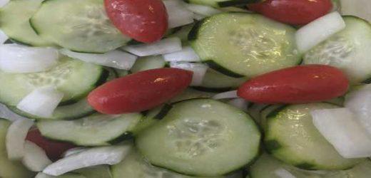 White Birch Restaurant Cucumber Salad