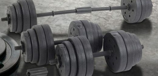 Adjustable dumbbell set discounted by over 80 percent off – where to get